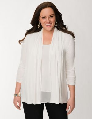 3/4 sleeve knit overpiece