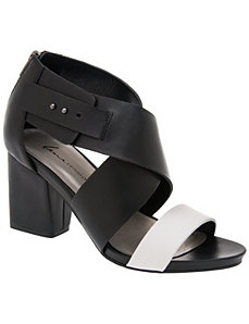 Colorblock city sandal
