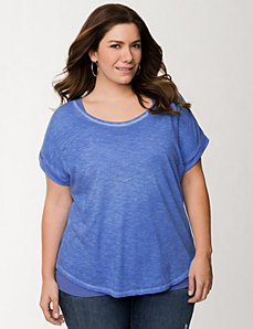Sun-Washed Tee by LANE BRYANT