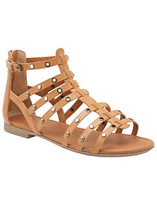 Embellished gladiator sandal by LANE BRYANT