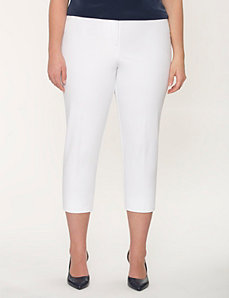 Lena cotton Smart Stretch capri by LANE BRYANT