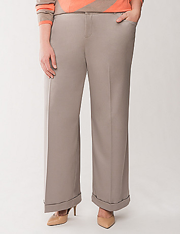 Lane Collection cuffed trouser