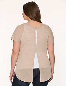 Envelope back top by LANE BRYANT