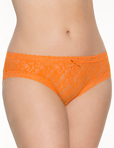 Lace hipster panty by LANE BRYANT