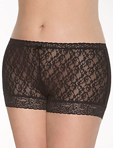 Lace shortie panty