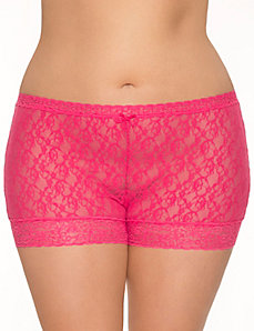 Lace shortie panty by LANE BRYANT