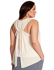 Lane Collection tie-back tank
