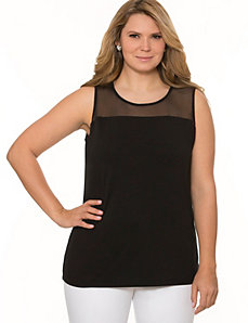 Illusion tank by LANE BRYANT