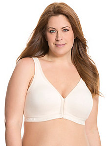 No-wire front close bra