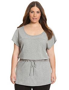 Drop waist tunic