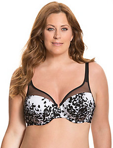 Illusion full coverage bra