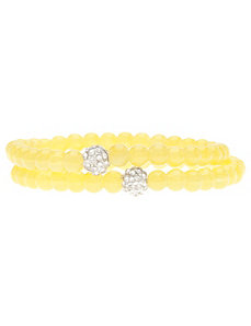 Glass bead bracelet duo by Lane Bryant by LANE BRYANT