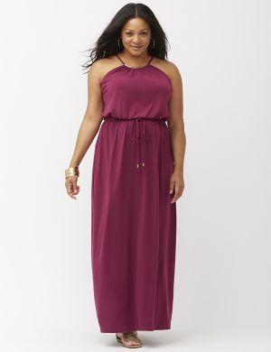 Hardware maxi dress