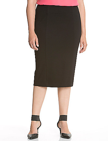 6th & Lane seamed pencil skirt