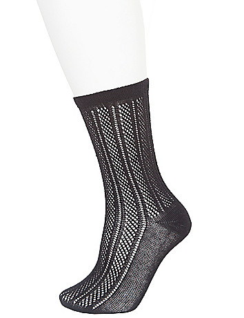 Pointelle crew socks sizes 8 - 12