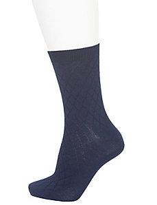 Diamond & solid crew socks 2-pack