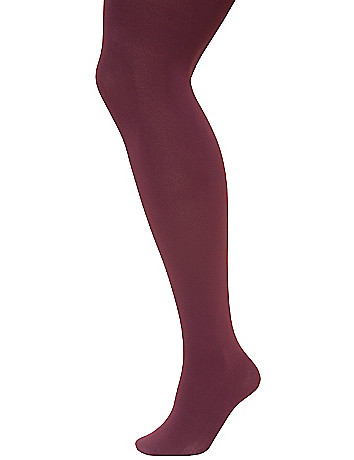 Plus size control top tights