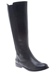 Alexandra leather riding boot