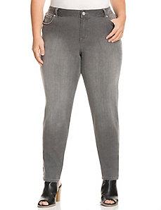 Genius Fit™ grey skinny jean