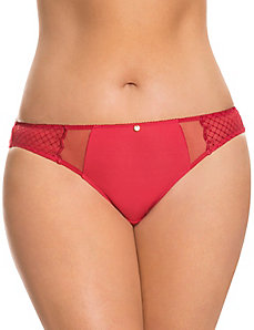 Dazzler illusion thong panty