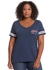 New England Patriots V-Neck Tee