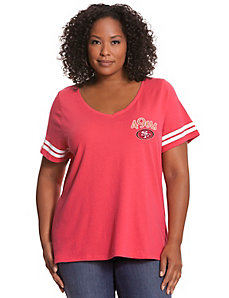 San Francisco 49ers V-Neck Tee