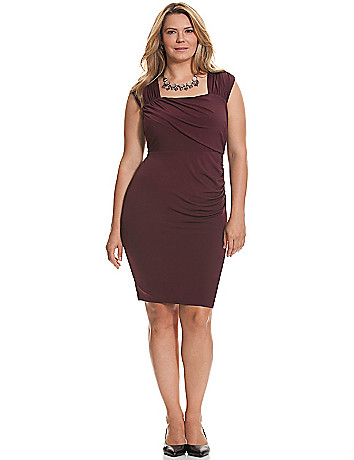 Control Tech ruched dress