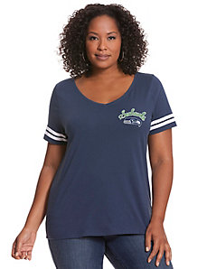 Seattle Seahawks V-Neck Tee