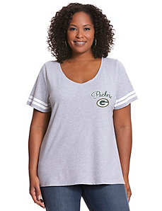 Green Bay Packers V-Neck Tee