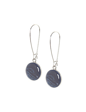 Circle drop earrings by Lane Bryant