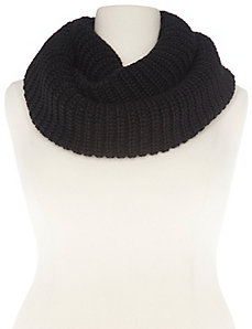 Shaker knit infinity scarf