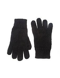 Shaker knit glove