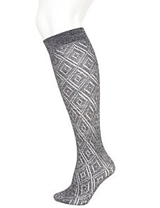 Metallic boot sock