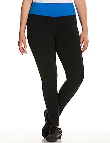 Plus size active performance legging