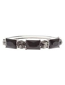 Stone hinge bracelet