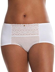 Geo lace boyshort panty