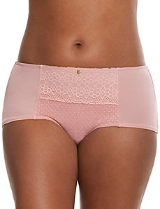 Geo lace boyshort panty