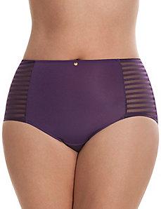 Dazzler brief panty with shadow stripes