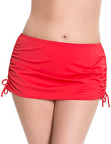 6th & Lane ruched swim skirt