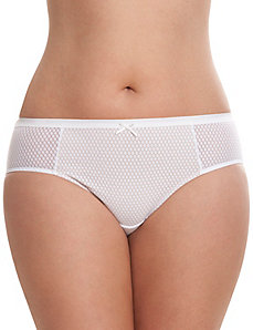 Geo lace Dazzler hipster panty