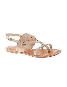 Luisa hair calf sandal