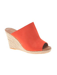 Espadrille wedge sandal