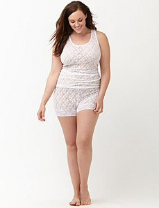 Stretch lace shortie