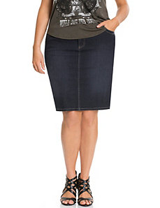 Denim skirt with Tighter Tummy Technology