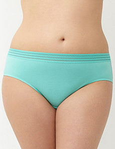 Sassy cotton hipster panty with sporty band