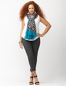 Lena Smart Stretch printed crop