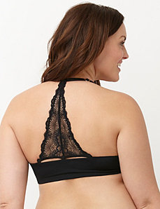 Convertible back plunge bra