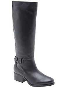 Mercedes clean leather riding boot