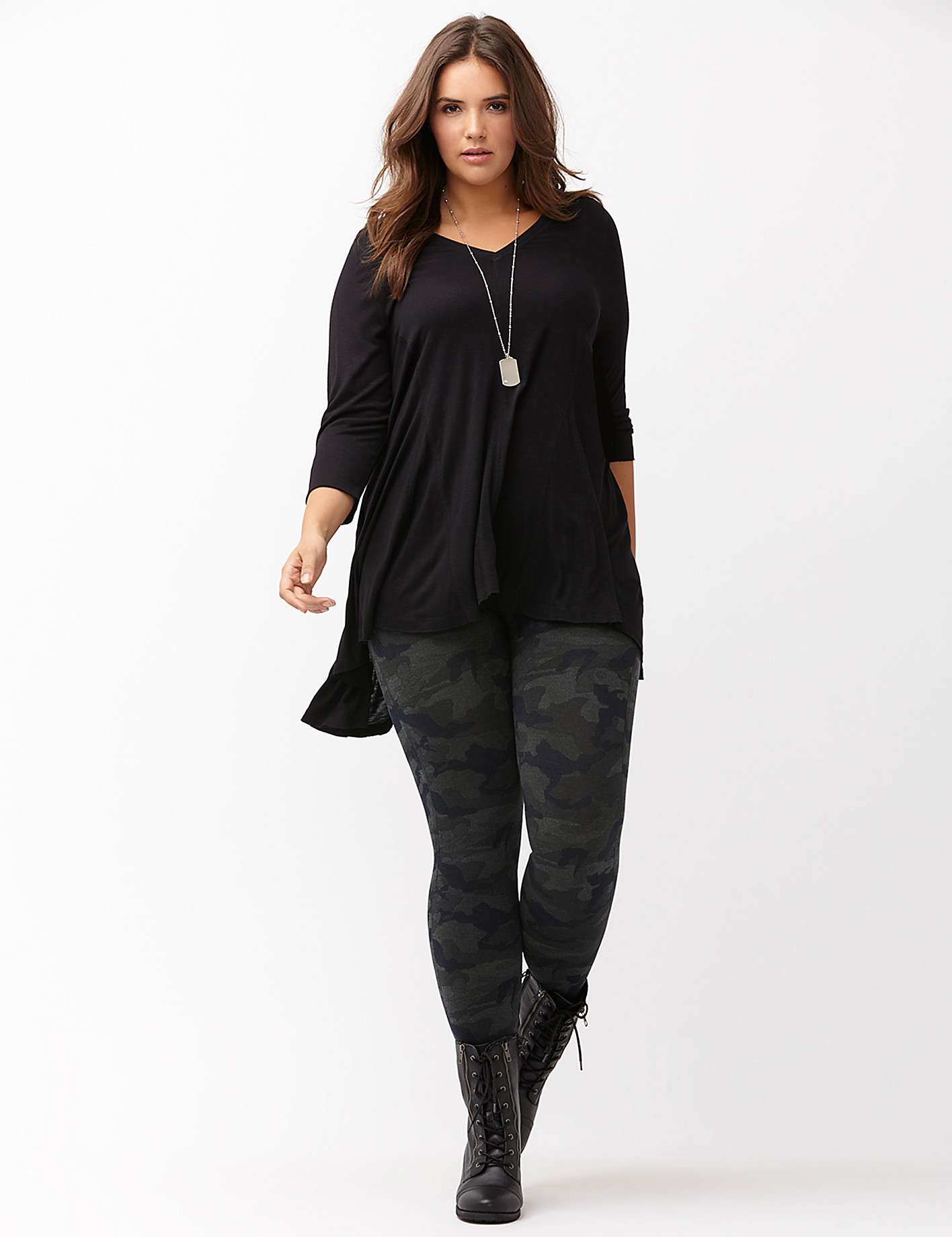 Image result for plus size outfits leggings boots