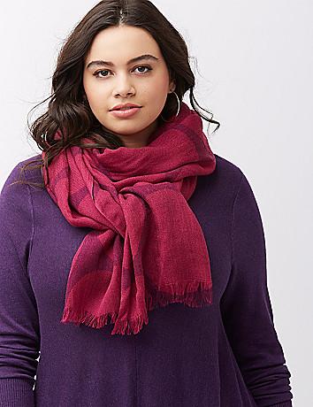 Plus size accessories scarves